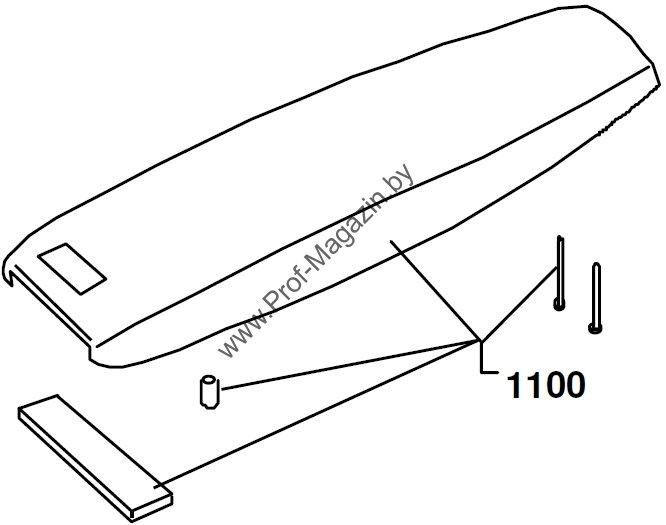 Ремонтная схема машинка Moser